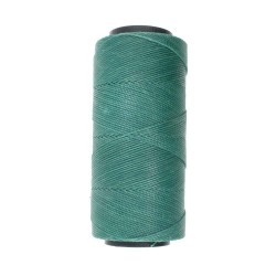 Knot-it! Teal Green - fir poliester cerat brazilia 1mm - bobina 144m