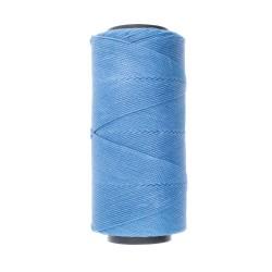 Knot-it! Sky Blue - fir poliester cerat brazilia 1mm - bobina 144m