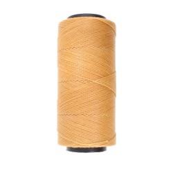 Knot-it! Sand - fir poliester cerat brazilia 1mm - bobina 144m