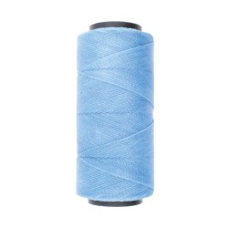 Knot-it! Powder Blue - fir poliester cerat brazilia 1mm - bobina 144m