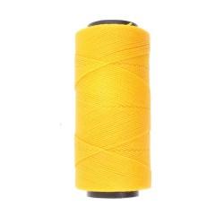 Knot-it! Gold Yellow - fir poliester cerat brazilia 1mm - bobina 144m
