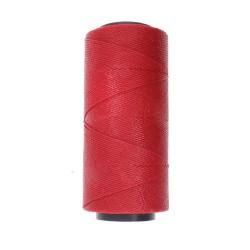 Knot-it! Dark Red - fir poliester cerat brazilia 1mm - bobina 144m