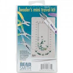 Travel Kit - mini trusa unelte pentru margelit - Beadsmith KIT01