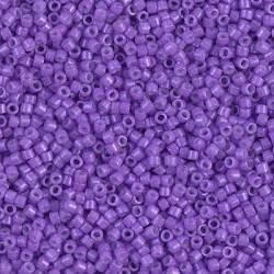 Delica DB1379 - Dyed Opaque Violet - margele Miyuki Delica11 - 5g