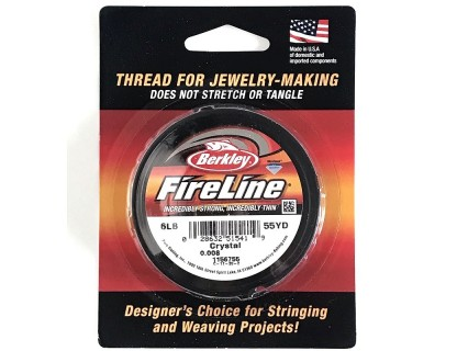 FireLine Crystal 6LB, bobina 55YD - 50 metrii