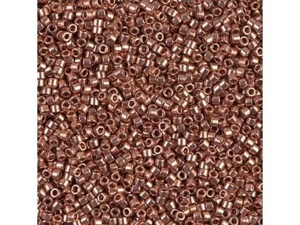 Delica DB40 - Copper Plated - margele Miyuki Delica11 - 5g
