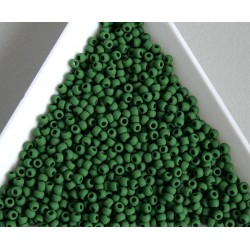 Toho R11-47HF, Opaque-Frosted Pine Green, 10g
