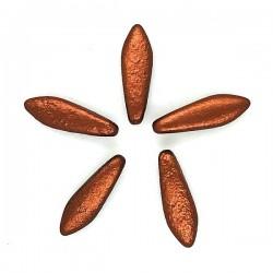 Daggers 5x16mm DAG-E02 Etched Copper - x10