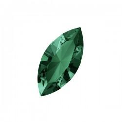 Swarovski Fancy Stone - Navette 15x7mm Emerald- 1x