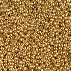 Miyuki Rocaille MR11-4202, Duracoat Galvanized Gold, 5g
