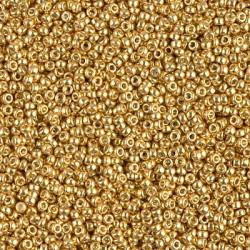 MR15-4202 margele Miyuki 15/0 - Duracoat Galvanized Gold, 5g