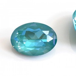 Swarovski 4120 Oval 18x13mm Crystal Laguna DeLite - x1