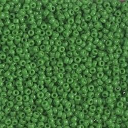 Miyuki Rocaille MR11-411, Jade Green Opaque, 5g