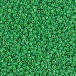 Delica DB2126 - Duracoat Opq Fiji Green - margele Miyuki Delica11 - 5g