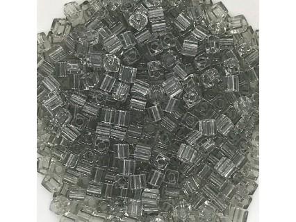 Miyuki Cube 3mm SB3-2412, Transpar4nt Taupe, 10g