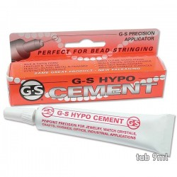 Adeziv G-S HYPO Cement, tub 9ml cu aplicator de precizie - x1