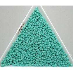 Toho R11-55F, Opaque-Frosted Turquoise, 10g