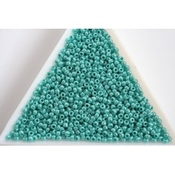 Toho R11-132, Opaque-Lustered Turquoise, 10g
