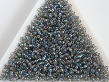 Toho R11-176, Trans-Rainbow Black Diamond, 10g