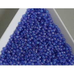 Toho R11-178F, Trans-Rainbow-Frosted Sapphire, 10g