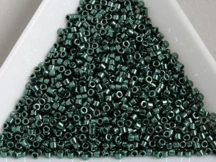 Delica DB458 - Galvanized Dark Teal Green - margele Miyuki Delica 11/0 ( 2.5g )