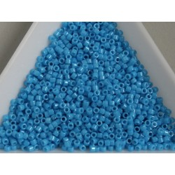 Delica DB659 - Dyed Opaque Dark Turquoise Blue - margele Miyuki Delica11 - 5g