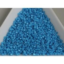 Delica DB659 - Dyed opaque dark turquoise blue - margele Miyuki Delica 11/0 ( 5g )