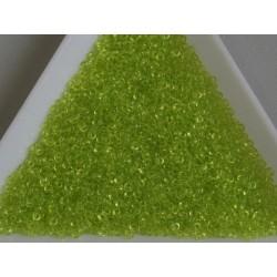 MR15-143 margele Miyuki 15/0 - Transparent Chartreuse, 5g