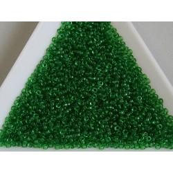 MR15-146 margele Miyuki 15/0 - Transparent Green, 5g