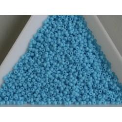 MR15-413 margele Miyuki 15/0 - Opaque Turquoise Blue, 5g