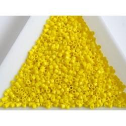 Delica DB721- Opaque Yellow, margele Miyuki Delica11 - 5g