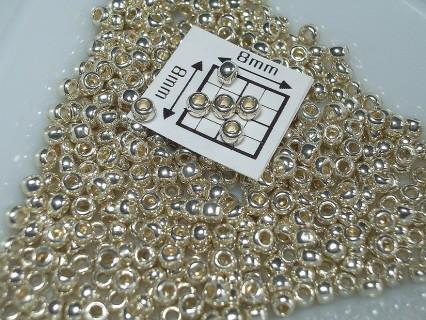 Toho R11-PF558, Permanent Finish - Galvanized Aluminum, 5g
