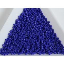 Delica DB726 - Opaque Cobalt, margele 11/0 Miyuki Delica, 5g