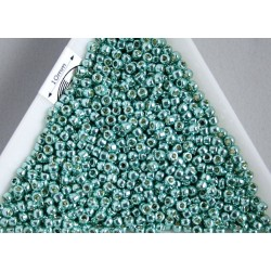Toho R11-PF561, Permanent Finish - Galvanized Green Teal, 5g