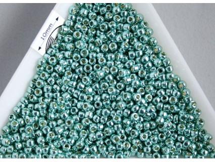 Toho R11-PF561, Permanent Finish - Galvanized Green Teal, 5g