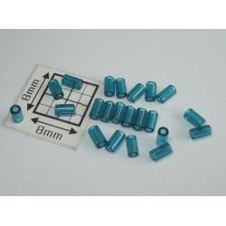 TB01-7BD margele Toho tub 3mm, capri blue transparent, 10g