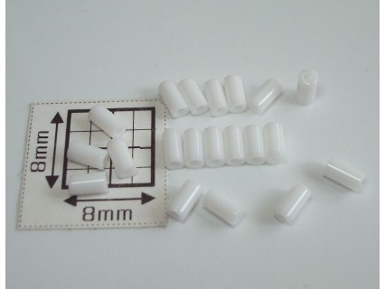 TB01-41 margele Toho tub 3mm, alb opac, 10g
