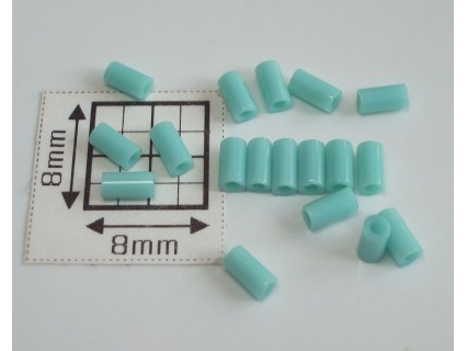TB01-55 margele Toho tub 3mm, turcoaz opac, 10g