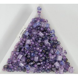 TX07 mix margele Toho, Kawaii - purple/green, 10g