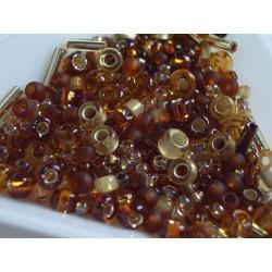 TX19 mix margele Toho, Kohaku - amber, 10g