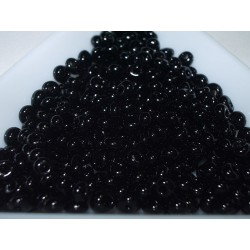 M03-49 margele Toho magatama 3mm, culoare negru lucios, 10g