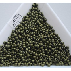 Toho R11-617, Matte-Color Dark Olive, 5g