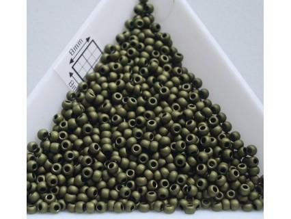 Toho R11-617, Matte-Color Dark Olive, 5g