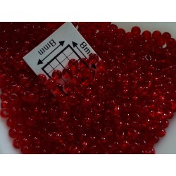 Toho R11-5C, Transparent Ruby, 10g