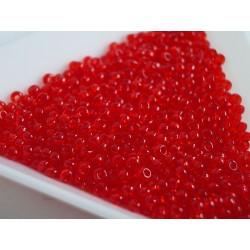 Toho R11-5B, Transparent Siam Ruby, 10g