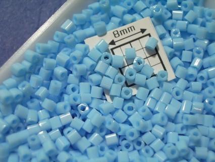 C01-43 margele Toho cub 1.5mm, opaque blue turquoise, 5g