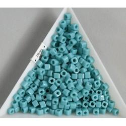 C03-55 margele Toho cub 3mm, opaque turquoise, 5g