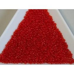 MR15-140 margele Miyuki 15/0 - Transp. Red Orange, 5g