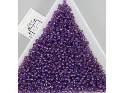 Toho R11-928, Inside-Color Rainbow Rosaline/Opaque Purple Lined, 10g