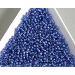 Toho R11-934, Inside-Color Lt Sapphire/Opaque Purple Lined, 10g
